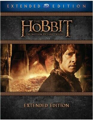 The Hobbit: The Motion Picture Trilogy [New Blu-ray] Extended Edition, Gift Se