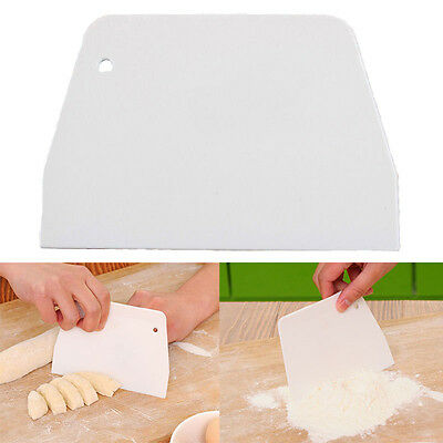 New Sugarcraft Scraper Cake Decor Fondant Icing Smoother Mould Frosting Tool