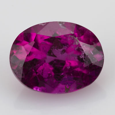 1.14 ct Rubellite Tourmaline Oval cut 7.68x5.88mm Si1 Natural loose red gemstone