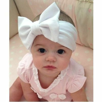 7pc Kids Girl Baby Toddler Infant Flower Headband Hair Band Accessories Headwear