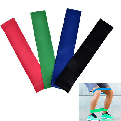1x Elastic Resistance Band Loop Body Training Pull Up Yoga Exercise Fitness Fin