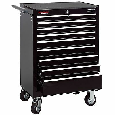 Draper 9 Drawer Black Roller Garage/Workshop Work Tool Storage Cabinet - 80245