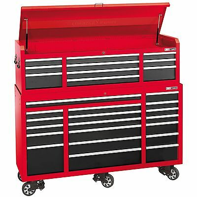 """Draper Expert 72"""" Garage Work Tool Chest And Roller Cabinet Combo - 74535"""