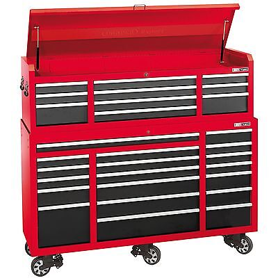 "Draper Expert 72"" Garage Work Tool Chest And Roller Cabinet Combo - 74535"