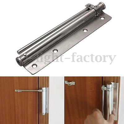 Stainless Steel Surface Mounted Door Closer Auto Closing Fire Rated Adjustable