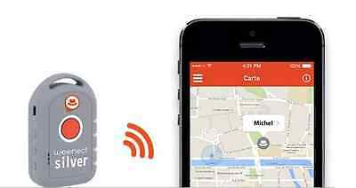 Weenect Silver : the GPS tracking and SOS alert for seniors