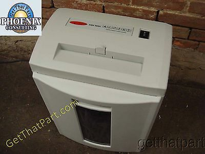 HSM 102.2 1104 German Made Personal Deskside Strip-Cut Paper Shredder