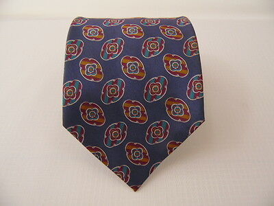 Pura Seta 100% Silk Tie Seta Cravatta Made In Italy  A4723