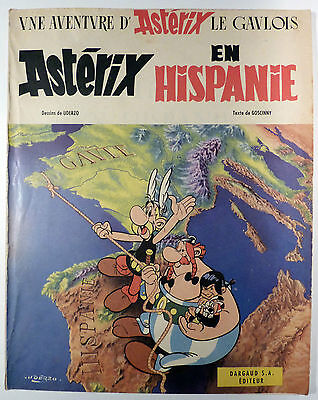 Astérix en Hispanie Uderzo Goscinny Edition BROCHEE BE