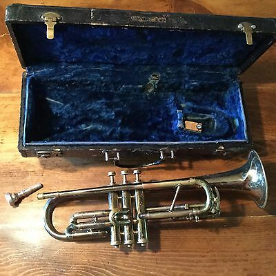 Vintage Brass Regent Trumpet / Cornet from the Ohio Band Instrument Company