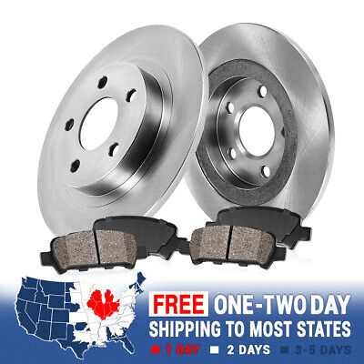 Front And Rear Brake Rotors /& Ceramic Pads For ES300h ES350 TOYOTA AVALON CAMRY