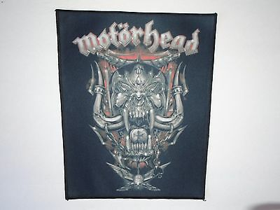 Motorhead Sublimated Back Patch