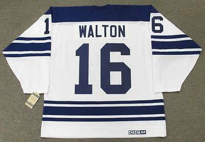 MIKE WALTON Toronto Maple Leafs 1967 CCM Vintage Away NHL Hockey Jersey