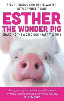 NEW Esther the Wonder Pig By Steve Jenkins Paperback Free Shipping