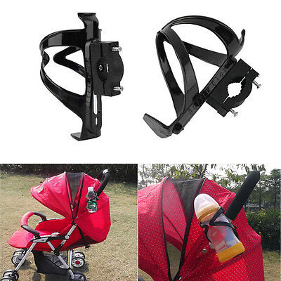 Baby Infant Stroller Pushchair Pram Bicycle Buggy Plastic Cup Rack Bottle Holder