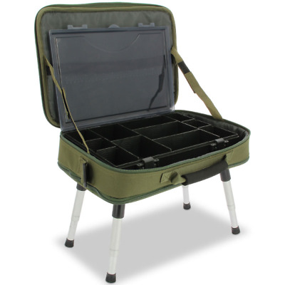 Ngt Bivvy Table With Tackle Box Bag Carp Fishing Terminal Tackle