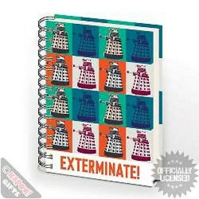 Doctor Who Exterminate A5 Notepad