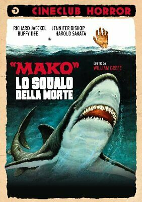 Mako Lo Squalo Della Morte DVD GOLEM VIDEO