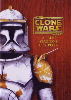 Star Wars - The Clone Wars - Stagione 01 (4 Dvd) WARNER HOME VIDEO