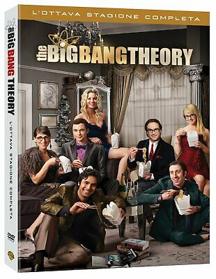 The Big Bang Theory - Stagione 8 (3 Dvd) WARNER HOME VIDEO