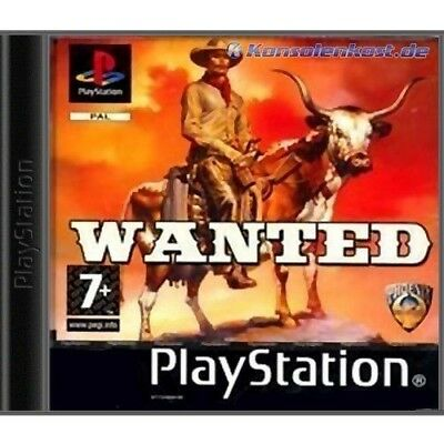 PS1 / Sony Playstation 1 Spiel - Wanted (NEU & OVP)
