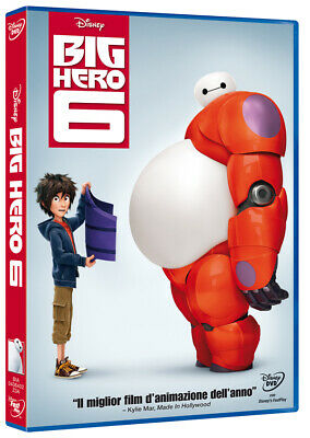 Big Hero 6 DVD WALT DISNEY