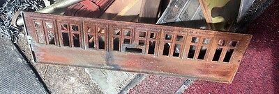 Rare Architectural Style Cast Iron Piece For Reuse