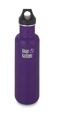 Klean Kanteen -  Classic 800ml Berry Syrup - Loop Cap - Free P&P