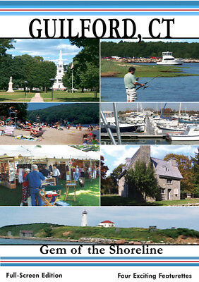 Independant Productions - Guilford, CT Gem of the Shoreline - Travel DVD