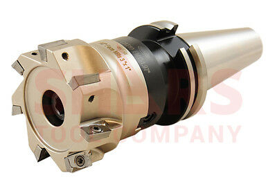 """OUT OF STOCK 90 DAYS 2/"""" 90° INDEXABLE COOLANT FACE MILL CUTTER CAT40 Arbor USE A"""