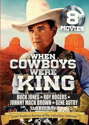 When Cowboys Were King: 8 Movie Collection - 2 DISC SET (2015, DVD New)