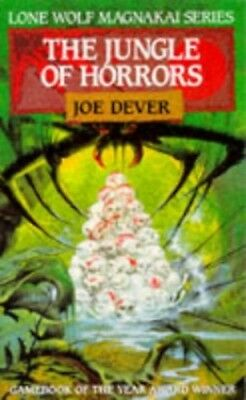 The Jungle of Horrors (Lone Wolf), Chalk, Gary Paperback Book The Cheap Fast