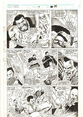 Cage #7 p.25 - Luke Cage and Iron Fist - 1992 art by Dwayne Turner & Chris Ivy