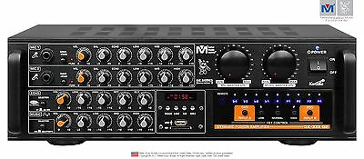 Better Music Builder DX-333 G2 700W KARAOKE Mixer  Amplifier- Noi tieng Viet