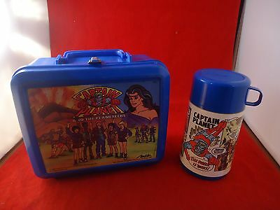 Captain Planet And The Planeteers School Lunchbox with Thermos Aladdin
