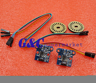 HC-020K Double Speed Measuring Sensor Module + Photoelectric Encoders Kit