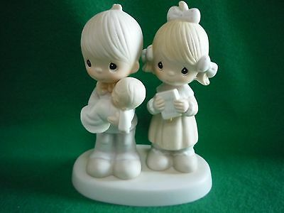 """Precious Moments figurine  """"Rejoicing With You""""  #E-4724 (with box)"""