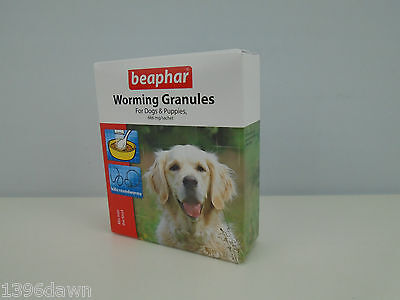 Beaphar Worming Granuals for Dogs & Puppies kills Roundworm