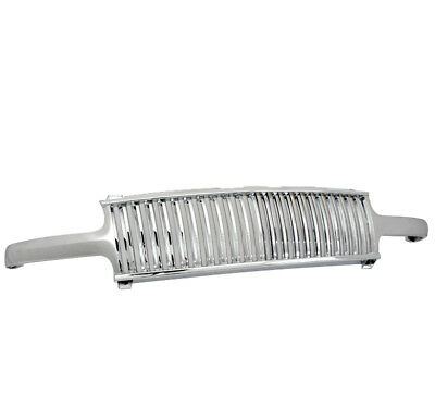 Chevy 99-02 Silverado/00-06 Suburban/tahoe Chrome Front Upper Main Grille Grill