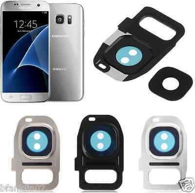 REAR Camera Glass Lens Cover Frame For Samsung Galaxy S7 S7 Edge