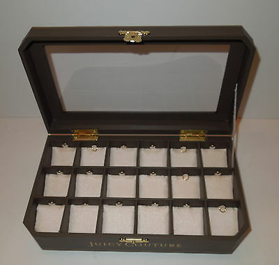 NIP Juicy Couture Charm Display Box Holds 18 Charms LAST ONE!