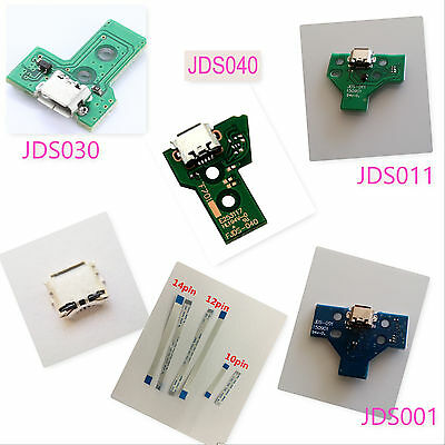 PS4 Sony PlayStation USB Controller Charging Port Socket Board Flex Cable Ribbon
