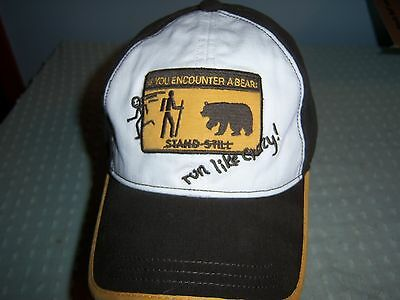 IF YOU ENCOUNTER A BEAR HAT YOUTH AGES 8-up