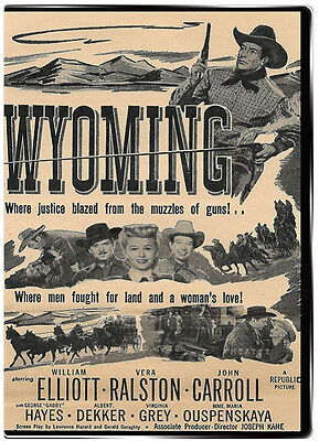 Wyoming 1947 DVD - William Elliot, Vera Ralston, John Carroll, Gabby Hayes