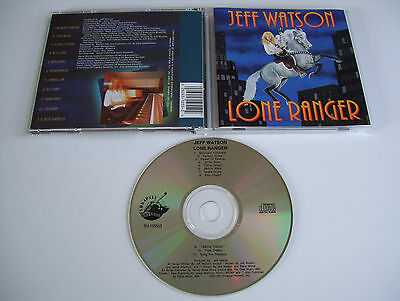 JEFF WATSON Lone Ranger CD 1992 RARE OOP ORIG 1st PRESS USA!!! NIGHT RANGER