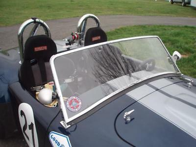 Fast Freddie's Fabrications Lexan Windshield For AC Cobra Roadster Replica