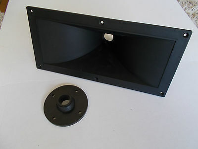 "INNOVA 1"" BOLT - ON OR SCREW - ON 12.5"" x 6"" HORN FLARE LENS FOR PA SPEAKER"