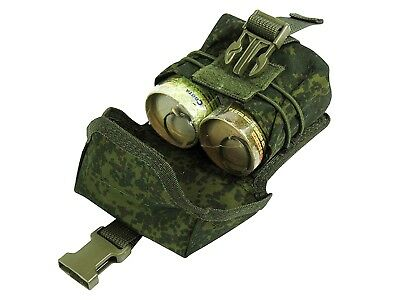 Russian Pouch Case molle pals tactical mag olive grena green od airsoft bag