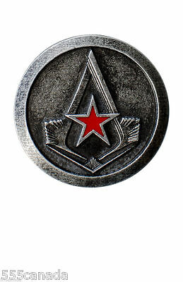 Assassins Creed Nikolai Orelov Official Metal Pin - Syndicate Unity Rogue Origin