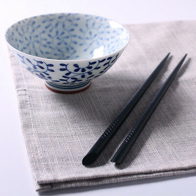 5 Pairs Natural Kuroki Wood Chopsticks Japanese Dinnerware Gift Chopsticks New